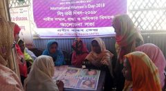 Ludu competition between older woman