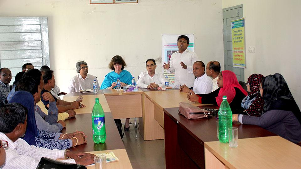 Team Leader of PROKAS in sharing meeting