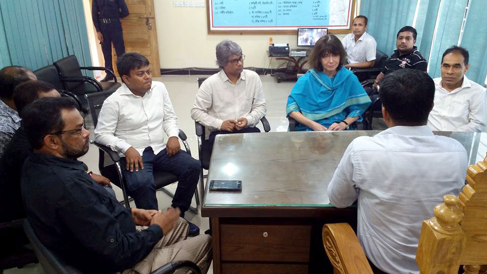 Team Leader of PROKAS in a meeting with government official