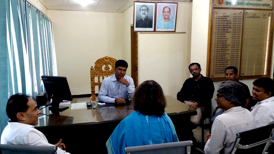 Team Leader of PROKAS in a meeting with government official 2