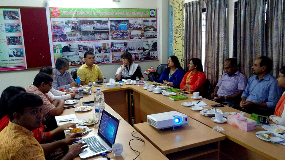 Team Leader of PROKAS in a meeting with at YPSA Head Office