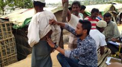 Outreach by Physiotherapist