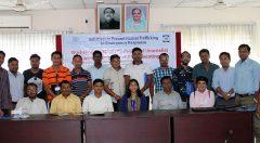 Group photo in Human Trafficking Workshop
