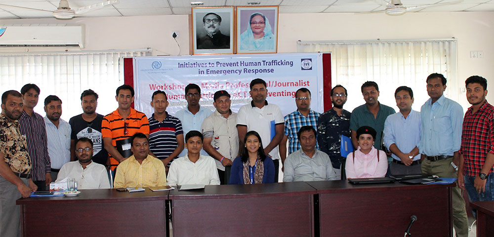 Group photo in Human Trafficking Workshop
