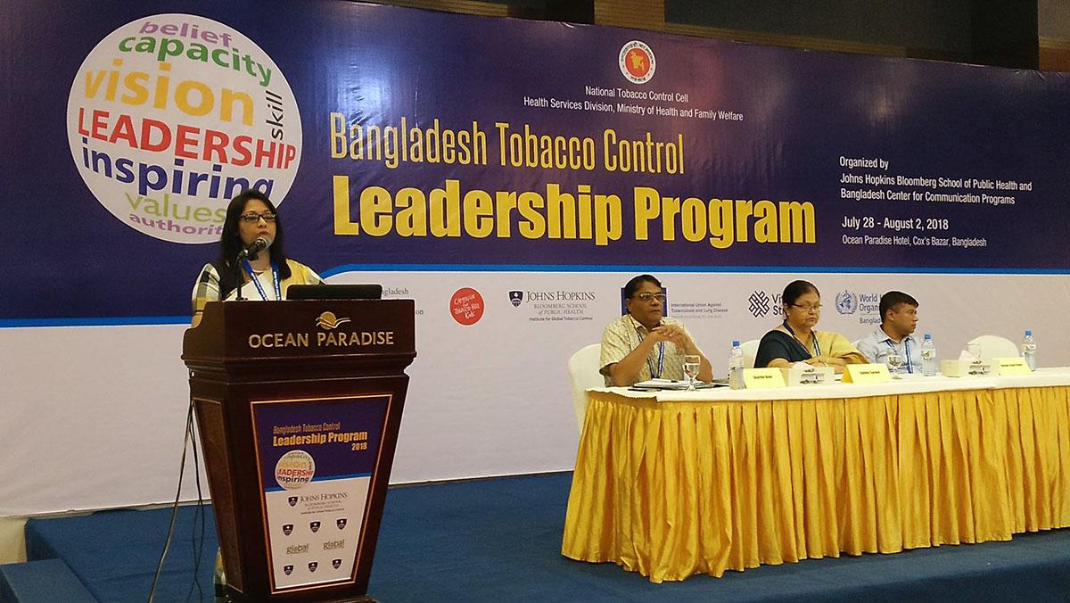 YPSA participated in Bangladesh Tobacco Control Leadership Program in Cox's Bazar