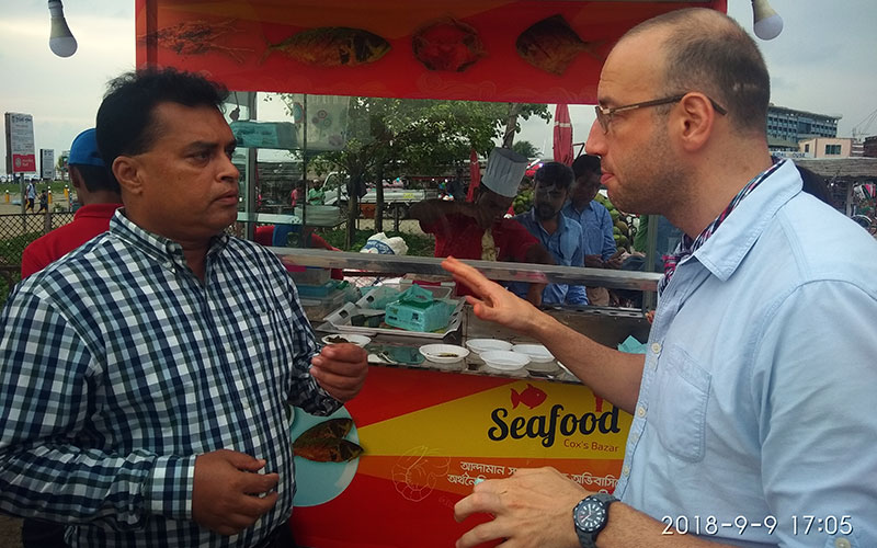 Red Seafood at Cox'sbazar