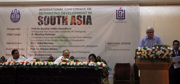International Conference on Rethinking Development in South Asia held at University of Chittagong