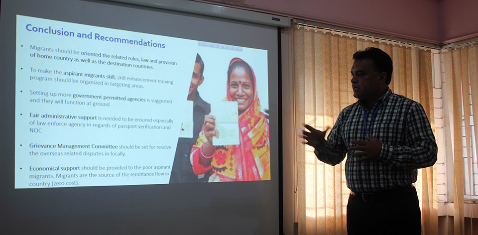 Presentation by Md. Arifur Rahman