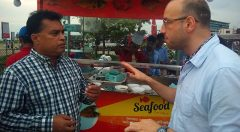 IOM chief of Mission visited RED Sea food Cox's Bazar limited at the Kolatoli beach of Cox's Bazar