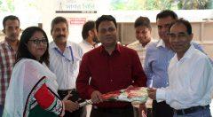 YPSA warmly welcomed the DG of NGOAB.