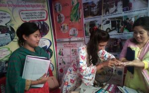 YPSA exhibition stall at Panchari