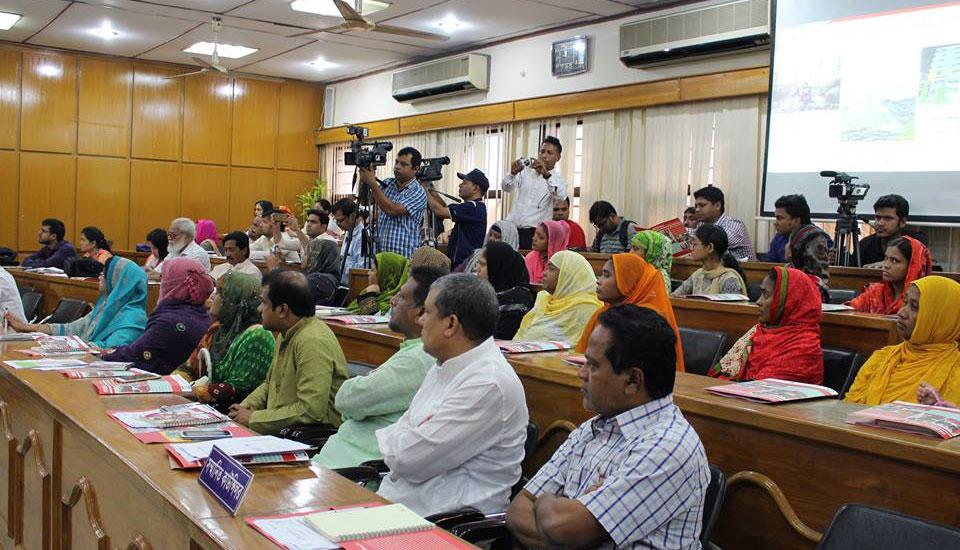 Meeting at Chittagong City Corporation