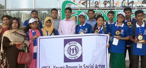 group photo of YPSA team