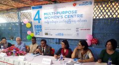 Multi Purpose Women's Center for displaced Rohingya opens at Ukiya