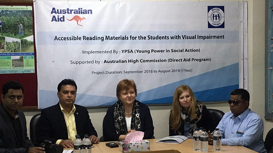 Australian High Commissioner visits YPSA