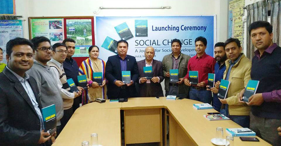 Launching Ceremony of YPSA journal Social Change