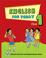 Book cover English For Today Class 1