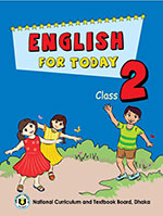 Book cover English For Today Class 2