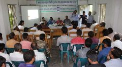 Meeting at Banshkhali