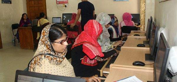 women with disabilities are getting market driven ICT training at YPSA-IRCD