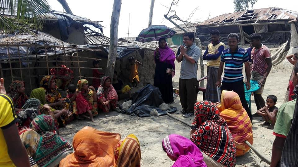 Community Team formation meeting at Kutubdia