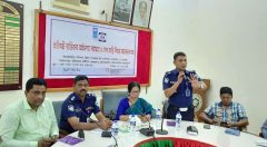 Speech by Additional superintendent of Cox's Bazar Police