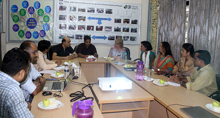 Meeting With YPSA management
