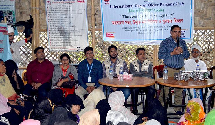 Speech by Humanitarian Response Manager, HelpAge International