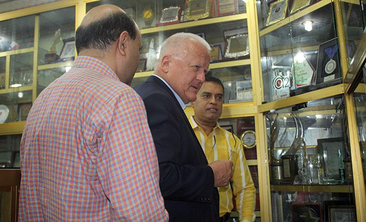 Visiting YPSA information Center