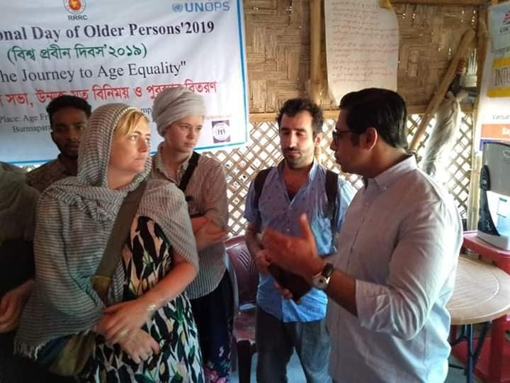 Visit of YPSA's Age Friendly Space