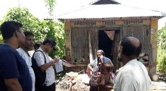 Household survey at Sandwip