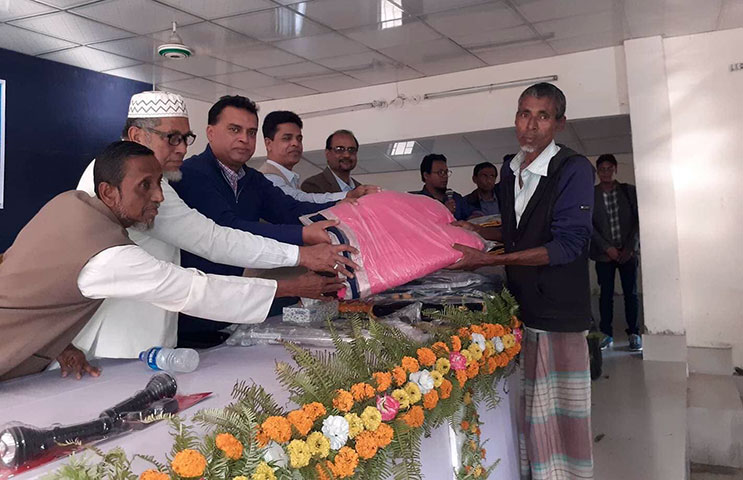 Blanket distribution by YPSA