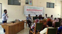 Upazila level advocacy meeting with stakeholders of Pekua upazila.