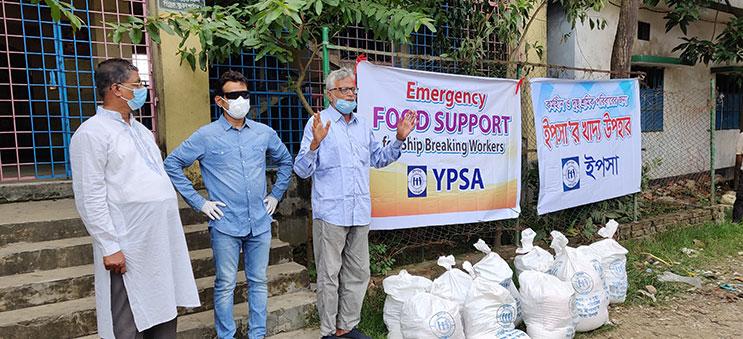 food distribution at Vatiary 2