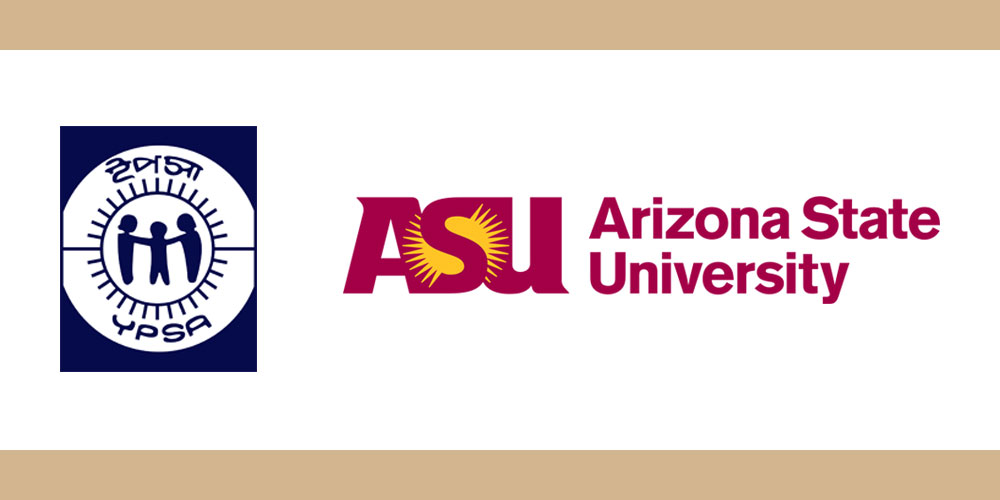 Logo of YPSA and Arizona State University