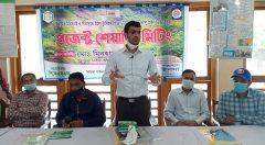 Speech by Mirsarai Upazila Nirbahi Officer