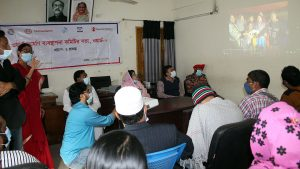8 no Shulokbahor Ward Disaster Management Committee Meeting