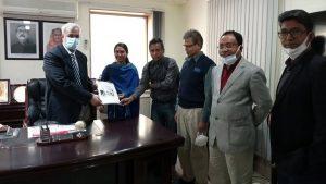 URA distribution to CDA Chairman