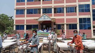 YPSA distributes Rickshaw van