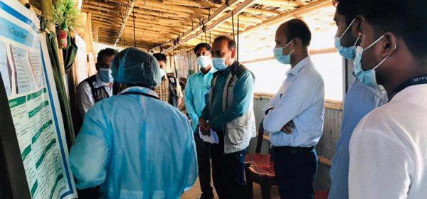 Assistant Health Coordinator, RRRC Office, Cox's Bazar visit YPSA