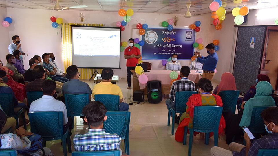Concept paper presentation at Ukhiya Office