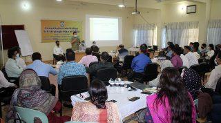 Consultation Workshop on 5th Strategic Plan (2021-2026) of YPSA