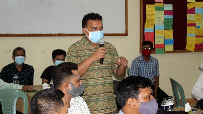 Speech by Md. Arifur Rhaman