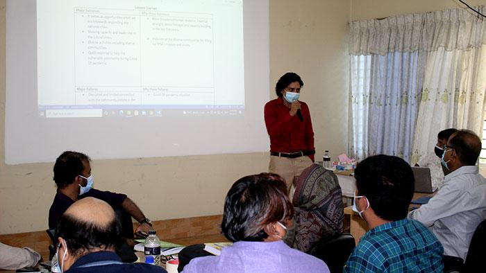 Presentation by Abdullah Al Shakir
