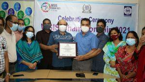 Handover Championship Certificate to YPSA Chief Executive Md. Arifur Rahman