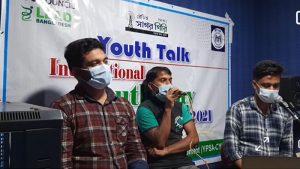 Talk show at Radio Sagorgiri