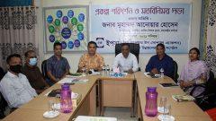 Deputy Director of NGO Affairs Bureau Anwar Hossain visited YPSA