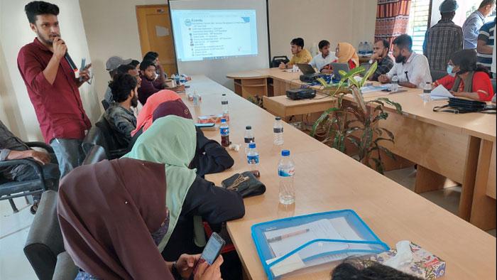 Project idea presentation in YPSA Youth Hackathon