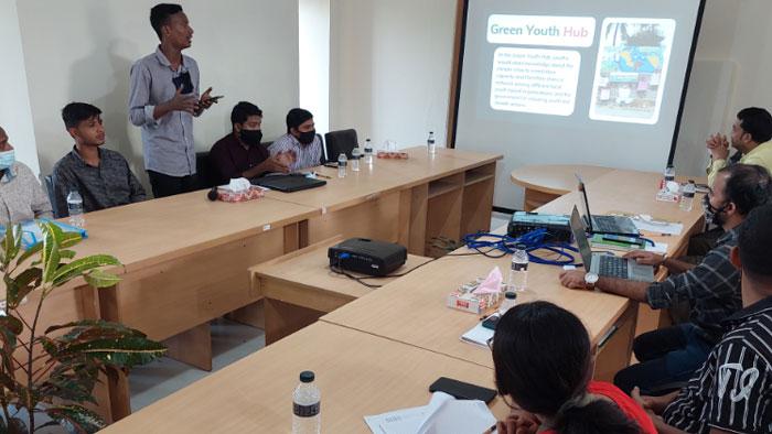 Idea presentation by youth
