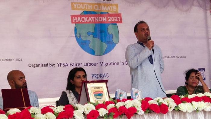 Speech by Tanvir Shakil Joy